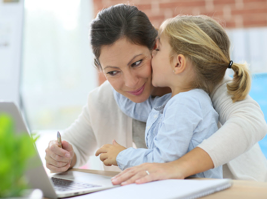 Trying to balance your career with your kids?